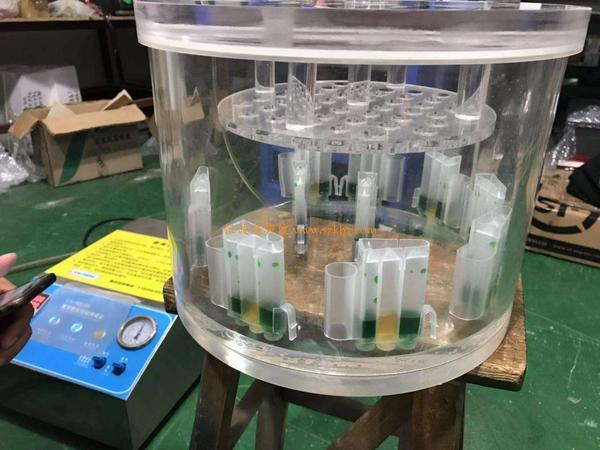 产品超声波焊接后的气密性测试