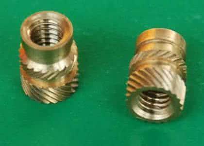 超聲波埋置用的銅螺母