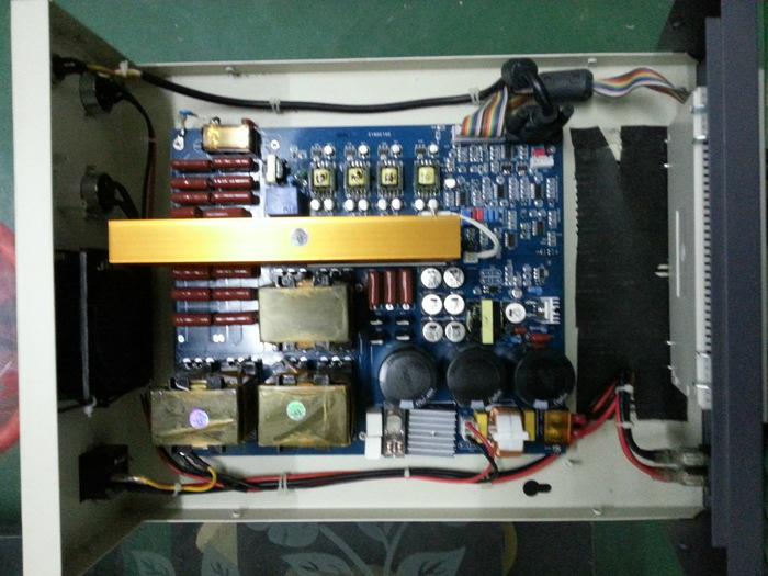智能型超聲波發生器內部圖