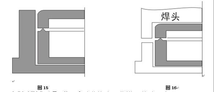 超聲波塑膠件的結構設計,超聲波結構設計