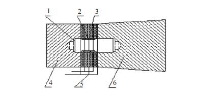 超聲波清洗換能器結構示意圖
