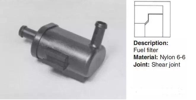 尼龍加纖材料超聲波焊接