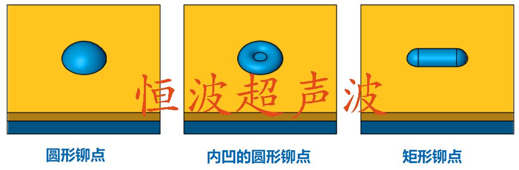 超聲波圓形鉚接點效果圖