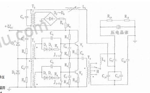 超聲波電路圖,超聲波電路原理圖