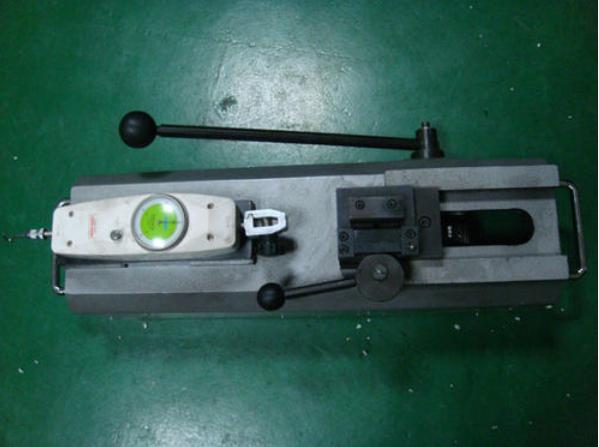 產品超聲波焊接后的拉力測試