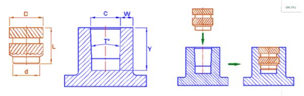 超聲波螺母埋置焊接機